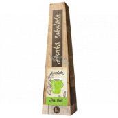 Bohemia Gifts Horúca extra jemná výberová mliečna čokoláda Pre šťastie 30 g
