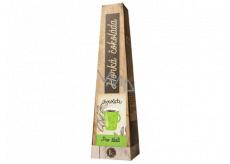 Bohemia Gifts & Cosmetics Horúca extra jemná výberová mliečna čokoláda Pre šťastie 30 g