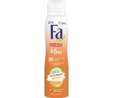 Fa Fresh & Free Cucumber & Melon 48h deodorant sprej pre ženy 150 ml