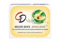 CD Avocado s glycerínom toaletné mydlo 125 g