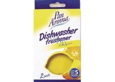Pán Aróma Dishwasher Freshener Fresh Lemon vôňa do umývačky 2 kusy