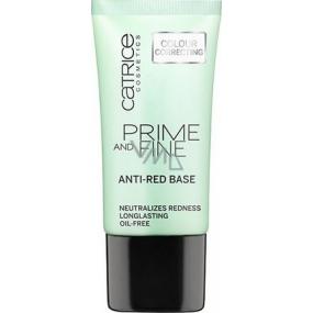 Catrice Prime and Fine Anti-Red Base báze proti zarudnutí 30 ml