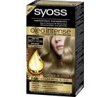 Syoss Oleo Intense Color barva na vlasy bez amoniaku 7-58 Popelavě plavý