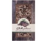 Bohemia Gifts & Cosmetics Mléčná hořká čokoláda Sladké pokušení Kávové zrno a Konopné semínko ručně vyráběná 80 g