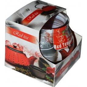 Admit Red Tea dekorativní aromatická svíčka ve skle 80 g