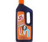 Wc Net Turbo gélový čistič odpadov spriechodní aj beznádejne upchané odpady 1 l