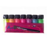 Art E Miss Sada svietiacich farieb na textil 7x12g 3134