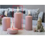 Lima Ice pastel sviečka ružová valec 60 x 120 mm 1 kus