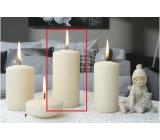 Lima Ice pastel sviečka creme valec 60 x 120 mm 1 kus