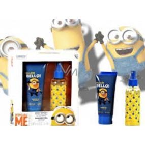 Mimoni Telový sprej 150 ml + sprchový gél 150 ml pre deti darčeková sada