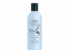 Ziaja Jeju Čierne sprchové mydlo s protizápalovými a antibakteriálnymi účinkami 300 ml