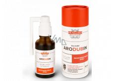 Aromatica Dr. Rukavička Arodubin bylinná tinktúra s výťažkom z dubovej kôry a zmesi desiatich bylín, podporujúce normálnu funkciu dýchacieho systému, širokospektrálny sprej, doplnok stravy 30 ml