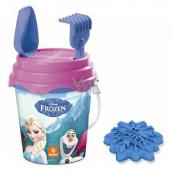 Mondo Frozen Sada na piesok kýblik so sitkom, hrabličky, lopatku a bábovku