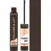 Catrice Volume & Lift Brow Mascara Waterproof riasenka na obočie 040 Dark Brown 5 ml