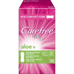 Carefree Aloe Vera prodyšné slipové intimní vložky 30 kusů