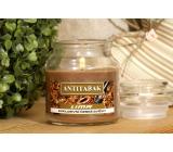 Lima Aróma Dreams Antitabac aromatická sviečka pohár s viečkom 120 g