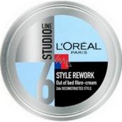 Loreal Paris Studio Line Style Rework vláknitý modelační krém na vlasy 150 ml