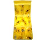 Kapsář do koupelny závěsný 700 žlutý 25 x 58 cm