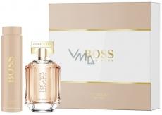 Hugo Boss Boss The Scent parfémovaná voda pro ženy 100 ml + tělové mléko 200 ml, dárková sada