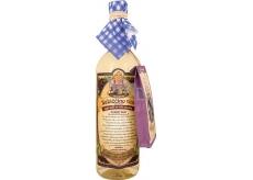 Bohemia Gifts & Cosmetics Babiččino víno k macerácii biele - čierny bez plod 750 ml