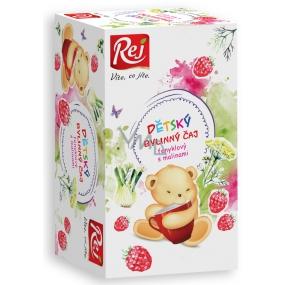 Rej Fenikel s maliny Bylinný čaj pre deti nálevové sáčky 20 x 32 g