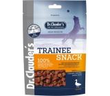 Dr. Clauders Trainee Snack Kačacie sušené kostičky mäso doplnkové krmivo 100% mäsa pre psov 80 g