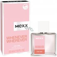 Mexx Whenever Wherever for Her toaletná voda pre ženy 50 ml