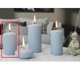 Lima Ice pastel sviečka svetlo modrá valec 60 x 90 mm 1 kus