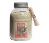 Bohemia Gifts & Cosmetics Šalvěj s bylinkami povzbuzující koupelová sůl 1,2 kg