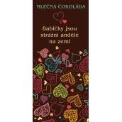 Bohemia Gifts & Cosmetics Mliečna čokoláda Babičce, darčeková 100 g
