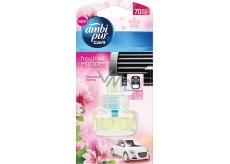 Ambi Pur Car Flowers & Spring náhradná náplň 7 ml