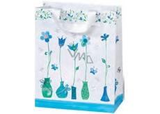 BSB Darčeková papierová taška malá 14,5 x 15 x 6 cm Blue Dreams LDT 372-CD