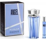 Thierry Mugler Angel parfémovaná voda plnitelný flakon pro ženy 100 ml + parfémovaná voda 7,5 ml, dárková sada