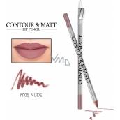 Reverz Contour & Matt Lip Pencil kontúrovacia ceruzka na pery 06 Nude 2 g