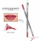 Reverz Contour & Matt Lip Pencil kontúrovacia ceruzka na pery 09 Siena 2 g