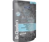 Dr. Clauders Best Selection No. 10 Sleď a krevety s chia kompletné krmivo s kúskami mäsa pre mačky kapsička 85 g