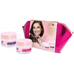 Dermacol Collagen + Rejuvenating SPF 10 intenzívny omladzujúci denný krém 50 ml + nočný krém 50 ml + etue, kozmetická sada