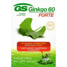 DÁREK GS Ginkgo 60 Forte doplněk stravy 10 tablet