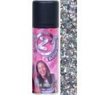 Zo Cool Glitter Sprej glitre na vlasy a telo Multi 125 ml