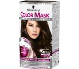 Schwarzkopf Color Mask barva na vlasy 400 Tmavě hnědý