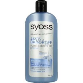 Syoss Anti-Dandruff Platin Control 100 Extreme pro vlasy s lupy 500 ml
