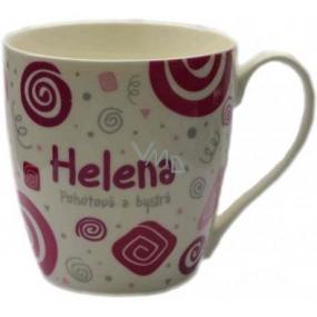 Nekupto Twister hrnek se jménem Helena růžový 0,4 litru