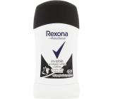 Rexona Invisible On Black + White Clothes antiperspirant dezodorant stick pre ženy 50 ml