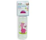 First Steps Jungle 0+ dojčenská fľaša Žirafa 250 ml