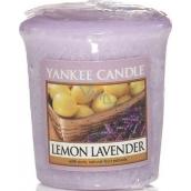 Yankee Candle Lemon Lavender - Citrón a levanduľa vonná sviečka votívny 49 g