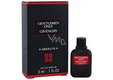 Givenchy Gentlemen Only Absolute toaletná voda pre mužov 3 ml, Miniatúra