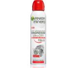 Garnier Mineral Magnesium Ultra Dry 72h antiperspirant dezodorant sprej pre ženy 150 ml