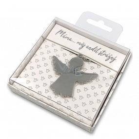 Nekupto Darčeková kľúčenka pre šťastie Máma..můj anjel strážny 4 cm
