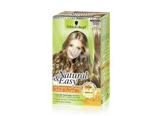 Schwarzkopf Natural & Easy farba na vlasy 550 Tmavo plavý satén