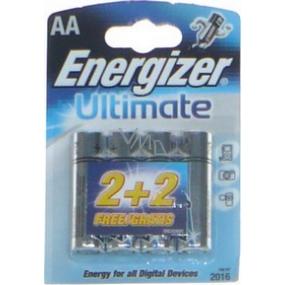 Energizer Ultimate batérie AA LR6 1,5V 2 + 2 kusy